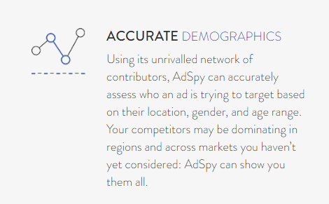 Accurate Demographics + AdSpy Coupon Code